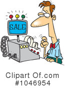 Clerk Clipart #1046954 by toonaday