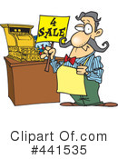 Clerk Clipart #441535 by toonaday