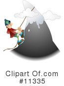 Climbing Clipart #11335 by AtStockIllustration