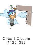 Climbing Clipart #1264338 by toonaday