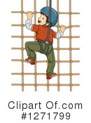 Climbing Clipart #1271799 by BNP Design Studio