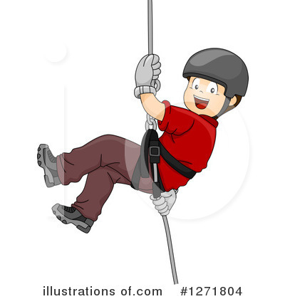Royalty-Free (RF) Climbing Clipart Illustration by BNP Design Studio - Stock Sample #1271804