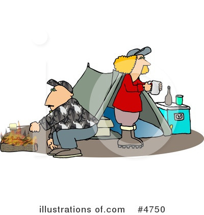 Camping Clipart #4750 by djart