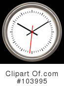 Royalty-Free (RF) Clock Clipart Illustration #103995