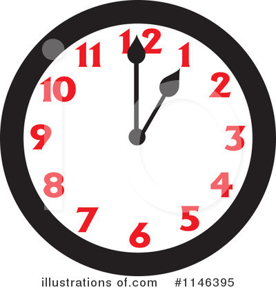 Clock Clipart #1146395 by Johnny Sajem