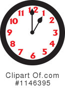 Royalty-Free (RF) Clock Clipart Illustration #1146395
