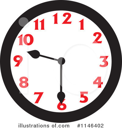 Clock Clipart #1146402 by Johnny Sajem