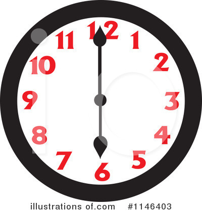 Clock Clipart #1146403 by Johnny Sajem