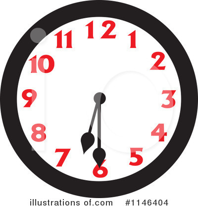 Clock Clipart #1146404 by Johnny Sajem