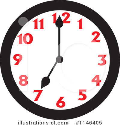Clock Clipart #1146405 by Johnny Sajem