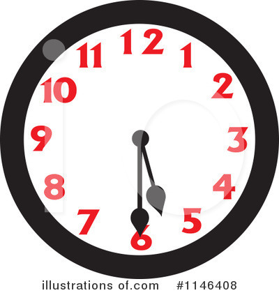 Clock Clipart #1146408 by Johnny Sajem