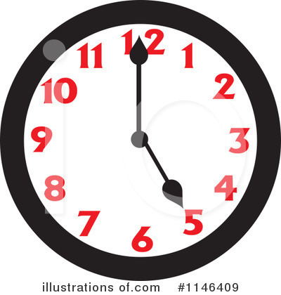 Clock Clipart #1146409 by Johnny Sajem