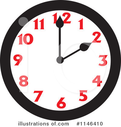 Clock Clipart #1146410 by Johnny Sajem