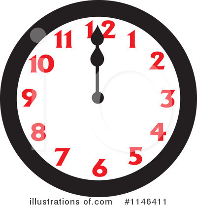 Clock Clipart #1146411 by Johnny Sajem