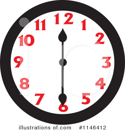 Clock Clipart #1146412 by Johnny Sajem