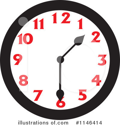 Clock Clipart #1146414 by Johnny Sajem