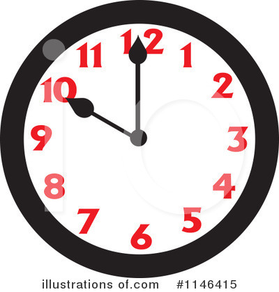 Clock Clipart #1146415 by Johnny Sajem