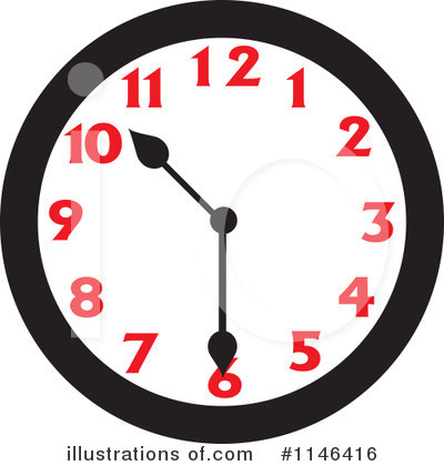 Clock Clipart #1146416 by Johnny Sajem