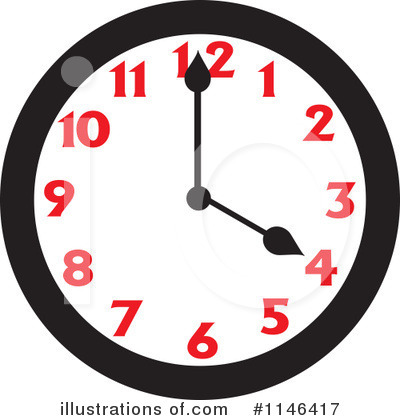 Clock Clipart #1146417 by Johnny Sajem