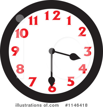 Clock Clipart #1146418 by Johnny Sajem