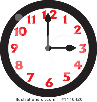 Clock Clipart #1146420 by Johnny Sajem