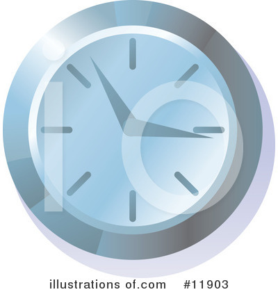 Time Clipart #11903 by AtStockIllustration