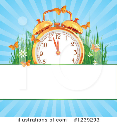 Clock Clipart #1239293 by Pushkin
