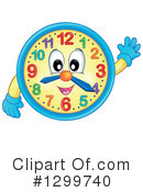 Clock Clipart #1299740 by visekart