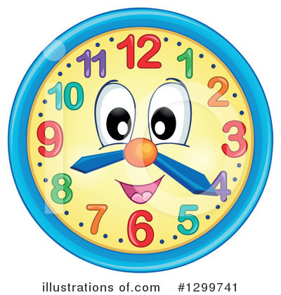 Clock Clipart #1299741 by visekart