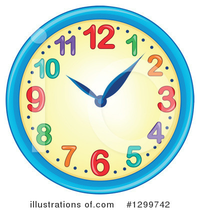 Clock Clipart #1299742 by visekart