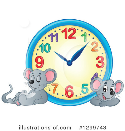Clock Clipart #1299743 by visekart
