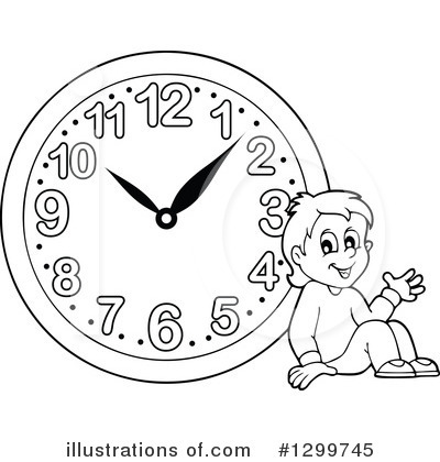 Clock Clipart #1299745 by visekart