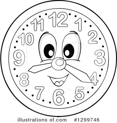 Clock Clipart #1299746 by visekart