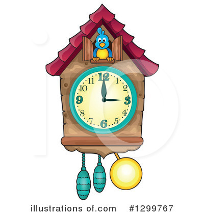 Royalty-Free (RF) Clock Clipart Illustration by visekart - Stock Sample #1299767