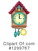 Clock Clipart #1299767 by visekart
