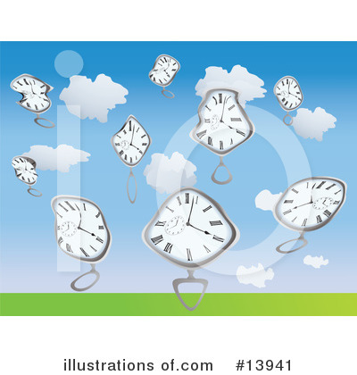 Clock Clipart #13941 by Rasmussen Images