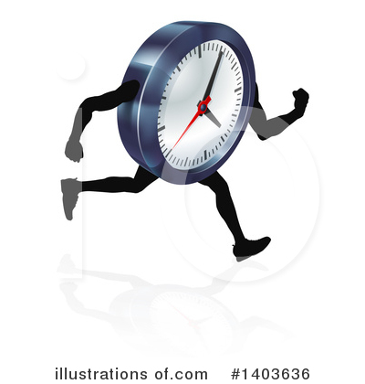 Time Clipart #1403636 by AtStockIllustration