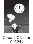 Royalty-Free (RF) Clock Clipart Illustration #14045