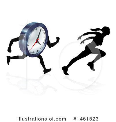 Time Clipart #1461523 by AtStockIllustration