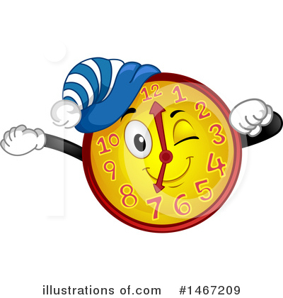 Royalty-Free (RF) Clock Clipart Illustration by BNP Design Studio - Stock Sample #1467209