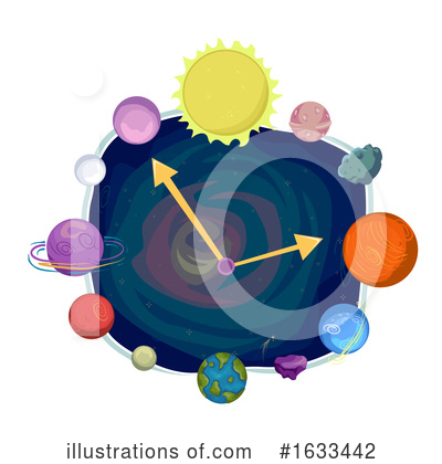 Outer Space Clipart #1633442 by BNP Design Studio