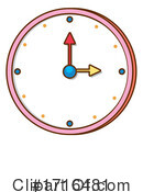 Clock Clipart #1716481 by Graphics RF