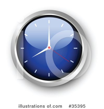 Clock Clipart #35395 by KJ Pargeter