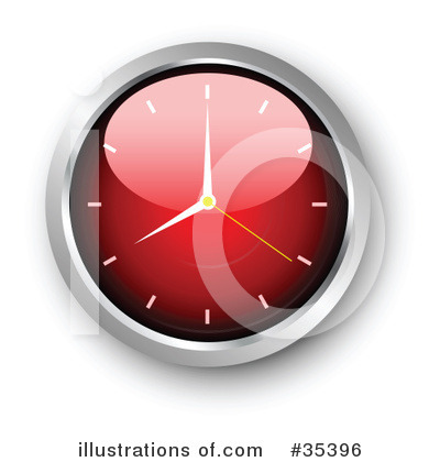 Clock Clipart #35396 by KJ Pargeter
