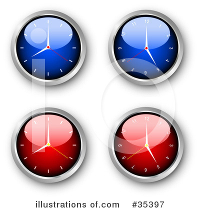 Clock Clipart #35397 by KJ Pargeter