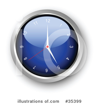 Clock Clipart #35399 by KJ Pargeter
