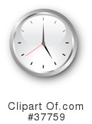 Clock Clipart #37759 by KJ Pargeter