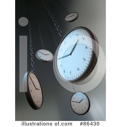 Royalty-Free (RF) Clock Clipart Illustration by Mopic - Stock Sample #86430