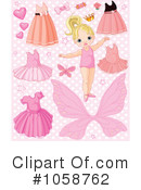 Royalty-Free (RF) Clothes Clipart Illustration #1058762