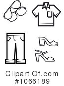 Royalty-Free (RF) clothes Clipart Illustration #1066189